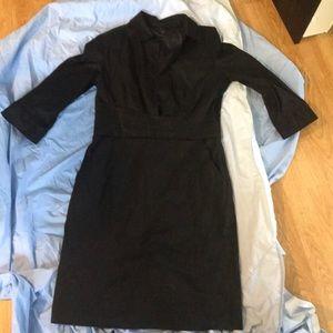 Ann Taylor black dress size 8